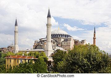 Aya Sofya Istambul - Historical building, Aya Sofya or Hagia...