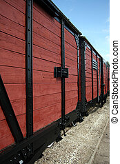 Carriages - Old train carriages