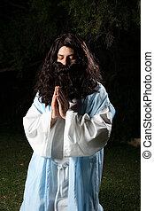 profeta, rezando
