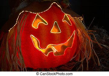 Halloween Lighted Pumpkin