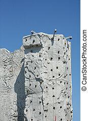 牆, 攀登, 岩石
