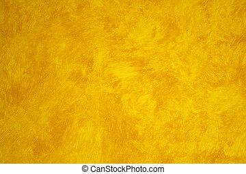 Yellow Faux Painted wall - a Yellow Faux Painted wall
