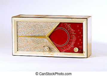 Retro Radio - old retro radio with stations from Israel, The...