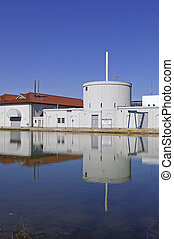 Water Treatment Plant - A portion of an urban potable Water...