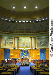 Massachusetts State House - Views and details of the State...