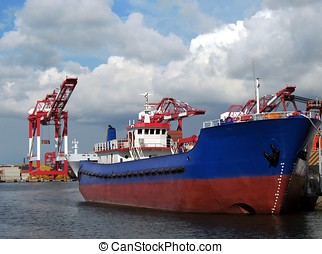 Cranes and Ships
