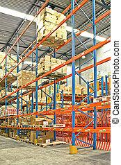 Storehouse shelves