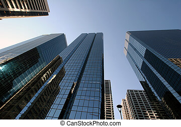 Giants - Office towers in down town