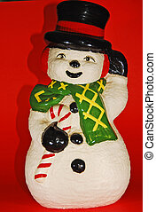 snow man decoration