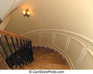 Luxury 1 - Staircase 2 - Luxury House with regal elegant...