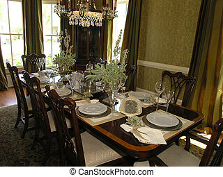 Luxury 5 - Dining 1 - Luxury House with regal elegant dining...