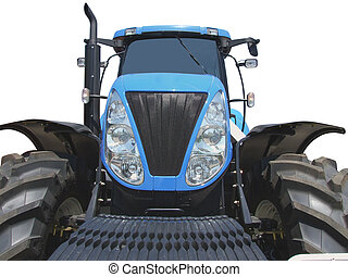 front of tractor