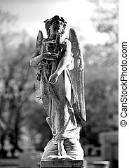 Cemetery angel - Series of Cemetery Angels and monuments...