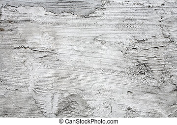 Dirty white grout wall texture abstract background.