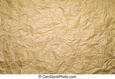 brown background - crinkled brown paper background