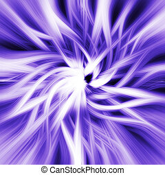 Abstract Purple Vortex Background - Abstract composition...