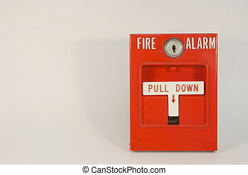 pull station fire alarm - fire alarm pull station over a...