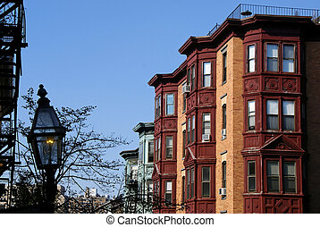 Classic Boston - Beautiful classic scene of old boston,...