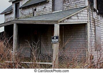 Abandoned shack.