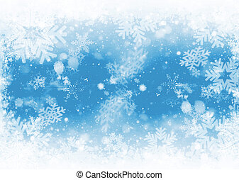 Snowflakes - Snowflake background