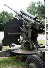 Cannon - Soviet field gun from World War II
