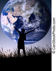 The world is mine, person isn\\\'t identifable
