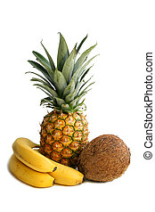 vita,  Ananas, cacao, noce, delizioso, frutte,  banana, ancora