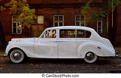 old timer A - Old english car from 50ties