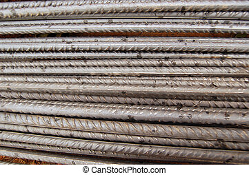 steel bars used in construction