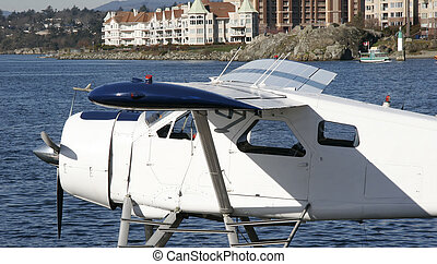 Seaplane on stand by