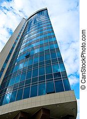 建物, 企業である, オフィス