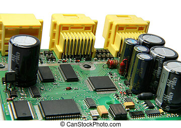 Electronic Printed Circuit Board - A printed circuit board...