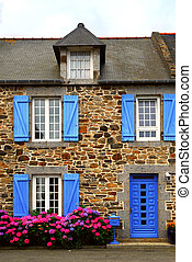 Country house in Brittany, France - Typical country house...