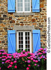 Country house in Brittany - Fragment of a typical country...