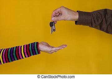 Giving Keys 1