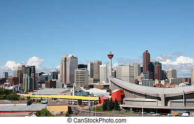 Calgary - View of city of Calagary