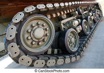 Track - Armoured vehicle\\\'s  track