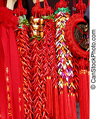 Red Chinese souvenirs