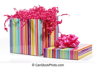 Gift - Photo of a Colorful Giftbox - Birthday Related Object