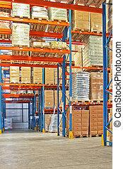 Shelf and cargo