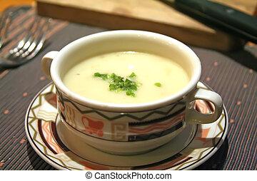 almeja, Sopa de pescado
