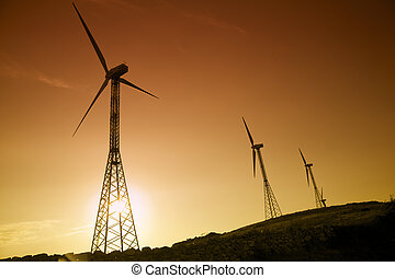 wind turbines - environmental conservation: wind turbines...