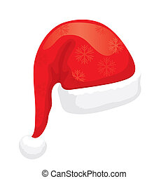 Santa Hat XXL jpeg made from vector