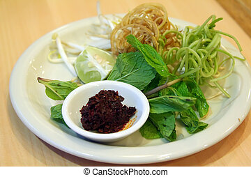 Vietnamese vegetables - Traditional vietnamse accompaniement...