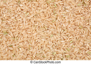 Brown Rice close up shot for background