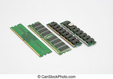 ram memory - different types of random access momory chips