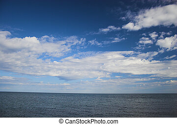 Sky over arctic ocean - Sky over the shore of Arctic Ocean...