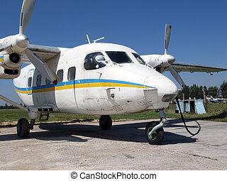 An-28 light cargo plane