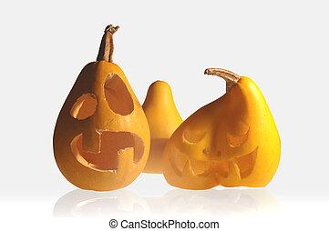 Funny halloween pumpkins - Spooky Halloween pumpkins...