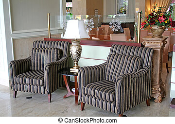 Sofa waiting room - Elegant waiting area living room with...